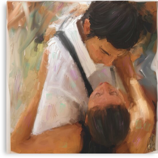 Tango Passion/homage to the masters by bev langby