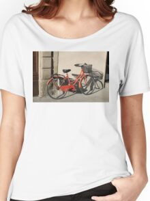Italian Bicycle Women's Relaxed Fit T-Shirt