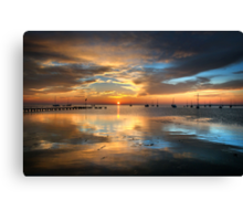 Winter Sunrise Canvas Print