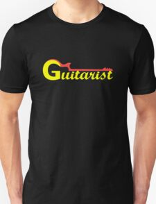 Guitarist Red & Yellow T-Shirt