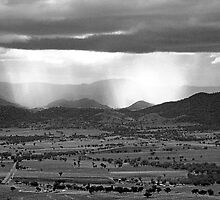 Storm in the Hills by Rodney Wratten