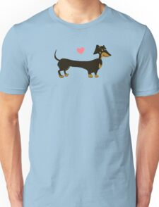 Sausage Love - Dachshund Sausage Dog Unisex T-Shirt