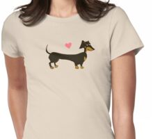 Sausage Love Womens Fitted T-Shirt