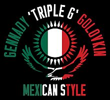 Gennady Golovkin - Mexican Style (Non-Letterpress) Photographic Print