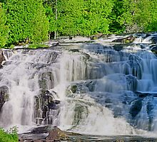 Michigan Bond Falls by Mark Bolen