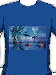 Blue Eyes Blue T-Shirt