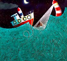 Broken anchor by Neil Elliott