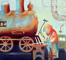 Sweat and steel  by Neil Elliott