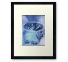 My Blue Heaven (Image and Poem) Framed Print