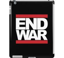 END WAR - RUN DMC Parody Logo iPad Case/Skin