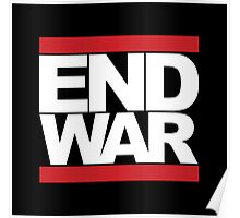 END WAR - RUN DMC Parody Logo Poster