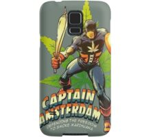 Captain Amsterdam Samsung Galaxy Case/Skin