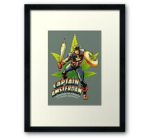 Captain Amsterdam Framed Print