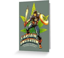 Captain Amsterdam Greeting Card