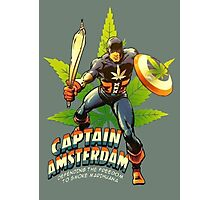 Captain Amsterdam Photographic Print