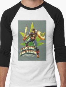 Captain Amsterdam Men's Baseball ¾ T-Shirt