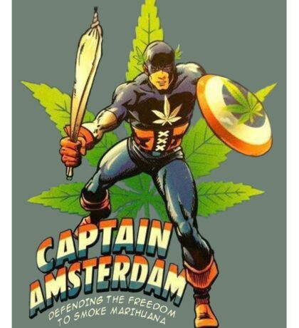 Captain Amsterdam Sticker