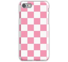 Pink Checkerboard iPhone Case/Skin