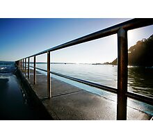 baths railings Photographic Print