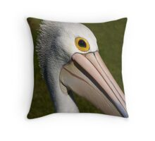 Australian Pelican Throw Pillow
