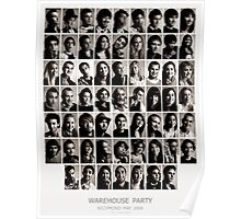 Warehouse Party, Richmond May 2008 Poster