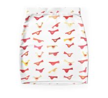 An Army of Undisciplined Birds Pencil Skirt