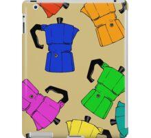 coffeepot colorful pattern iPad Case/Skin