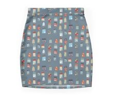 Little Houses Pencil Skirt