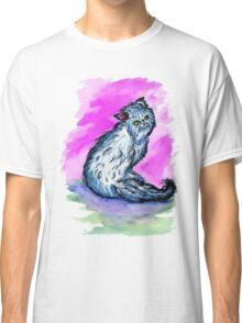 Persian Cat Watercolor Classic T-Shirt