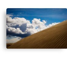 Sand Dune and Clouds Canvas Print