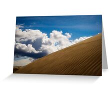Sand Dune and Clouds Greeting Card
