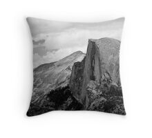 Half Dome in the Distance Throw Pillow