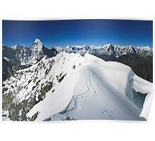Island Peak Ridge Poster