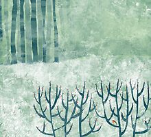 Cold Hedgerow by Nic Squirrell