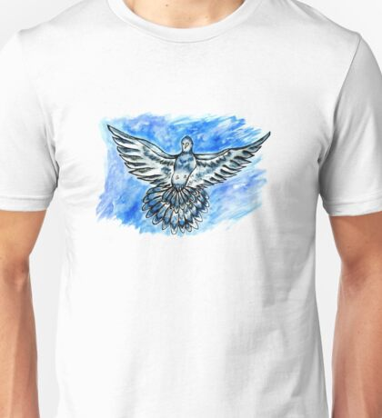 Dove in the Sky Unisex T-Shirt