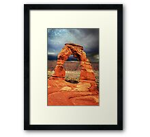 Delicate Arch, Arches National Park Framed Print