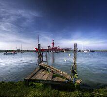 Tollesbury Lightship 'Trinity' by Nigel Bangert