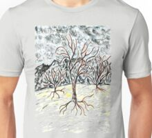Dead Tree Sketch 2 Unisex T-Shirt