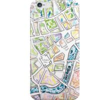 Map of London MADMAPS by Victori Vincent iPhone Case/Skin