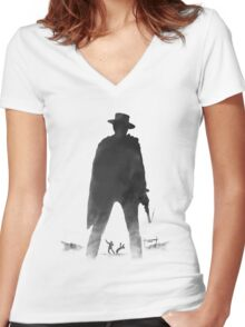 Manco Women's Fitted V-Neck T-Shirt