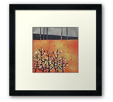 Blackthorn Framed Print