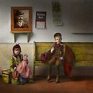 Children - Life is an adventure 1893 by Mike  Savad