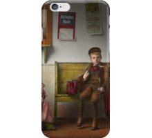 Children - Life is an adventure 1893 iPhone Case/Skin