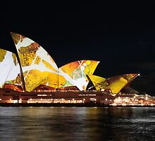 Sydney Opera House, June 2009. by Charles Fortin