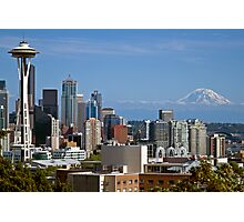 The Space Needle, Downtown Seattle Photographic Print