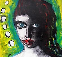 Green Eyes by EBArt