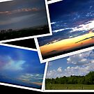 Canadian Clouds of June 2009 by Larry Llewellyn
