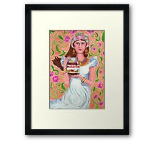 An Ode To Nutella Framed Print