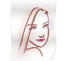 Lipstick Girl S Poster