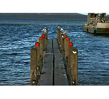 Pier Review? Photographic Print